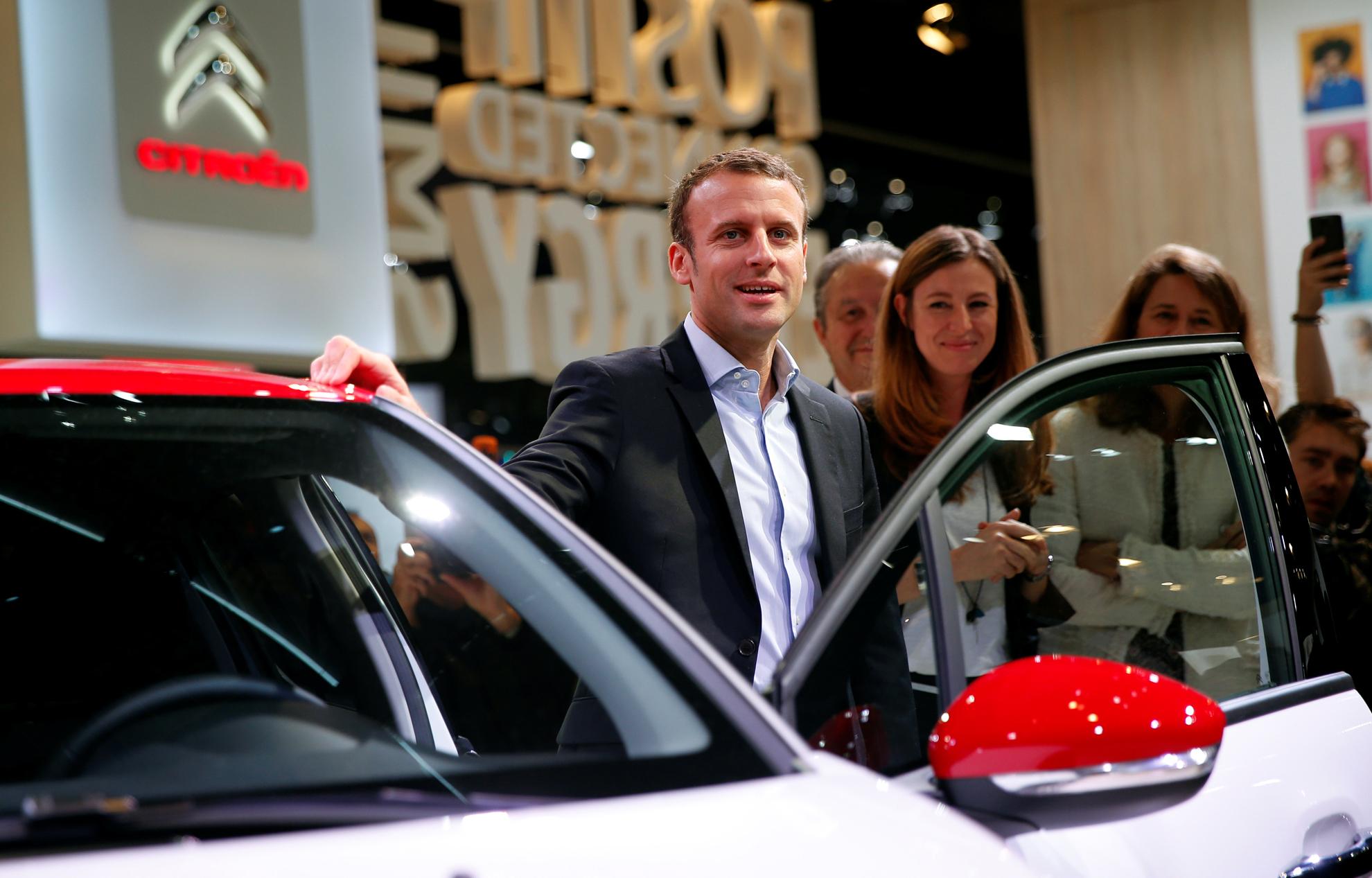 Emmanuel Macron - loi sur l'automobile