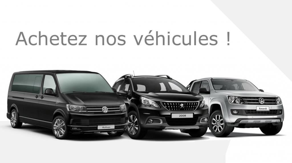 Retrouvez à la vente nos véhicules de fonction
