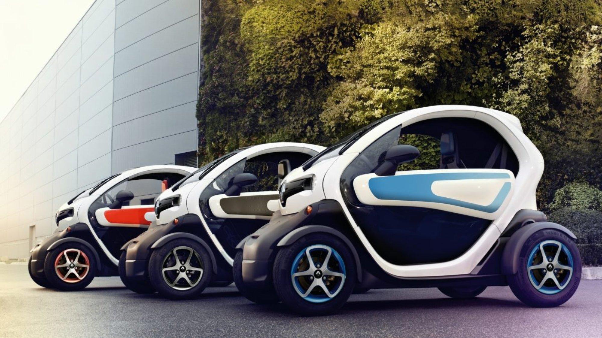 Renault Twizy la petite voiture 100% électrique ultra pratique