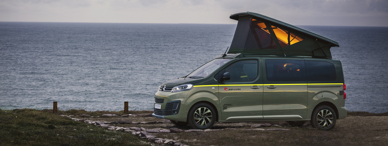 Un van Citroën pour vos road-trip