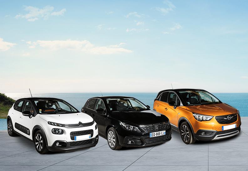 Vacances d'été: notre sélection de voiture à moins de 70€ TTC par jour.