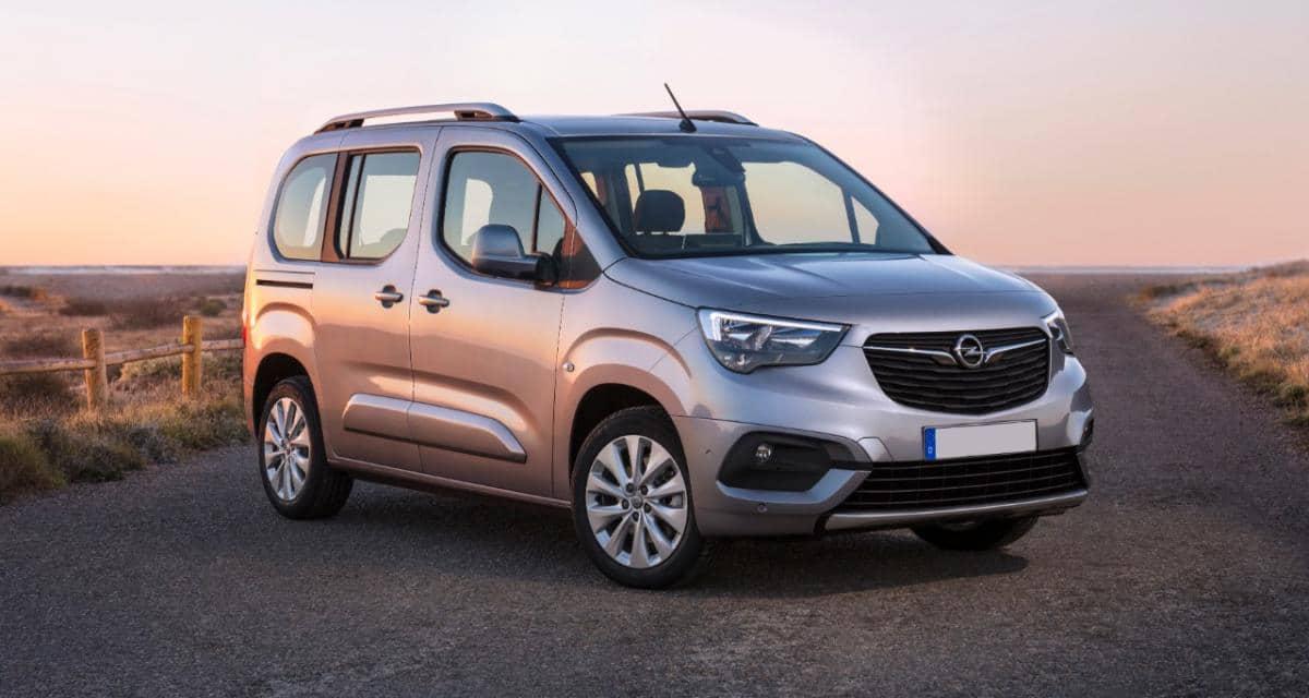Opel Combo Cargo… Découvrez les premières images du dernier utilitaire Opel !
