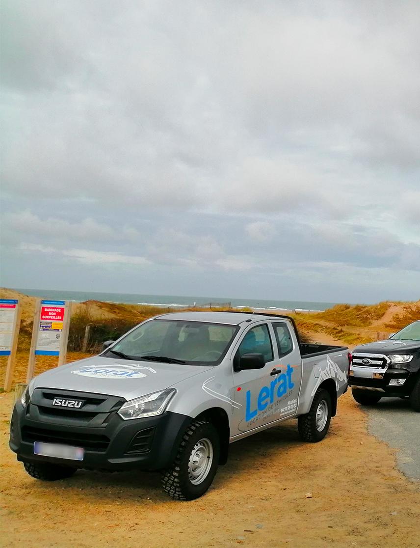 Pick-up Lerat location