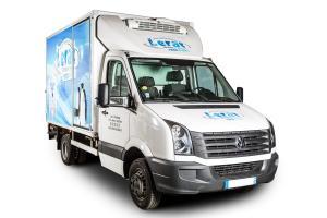 Grand camion frigorifique