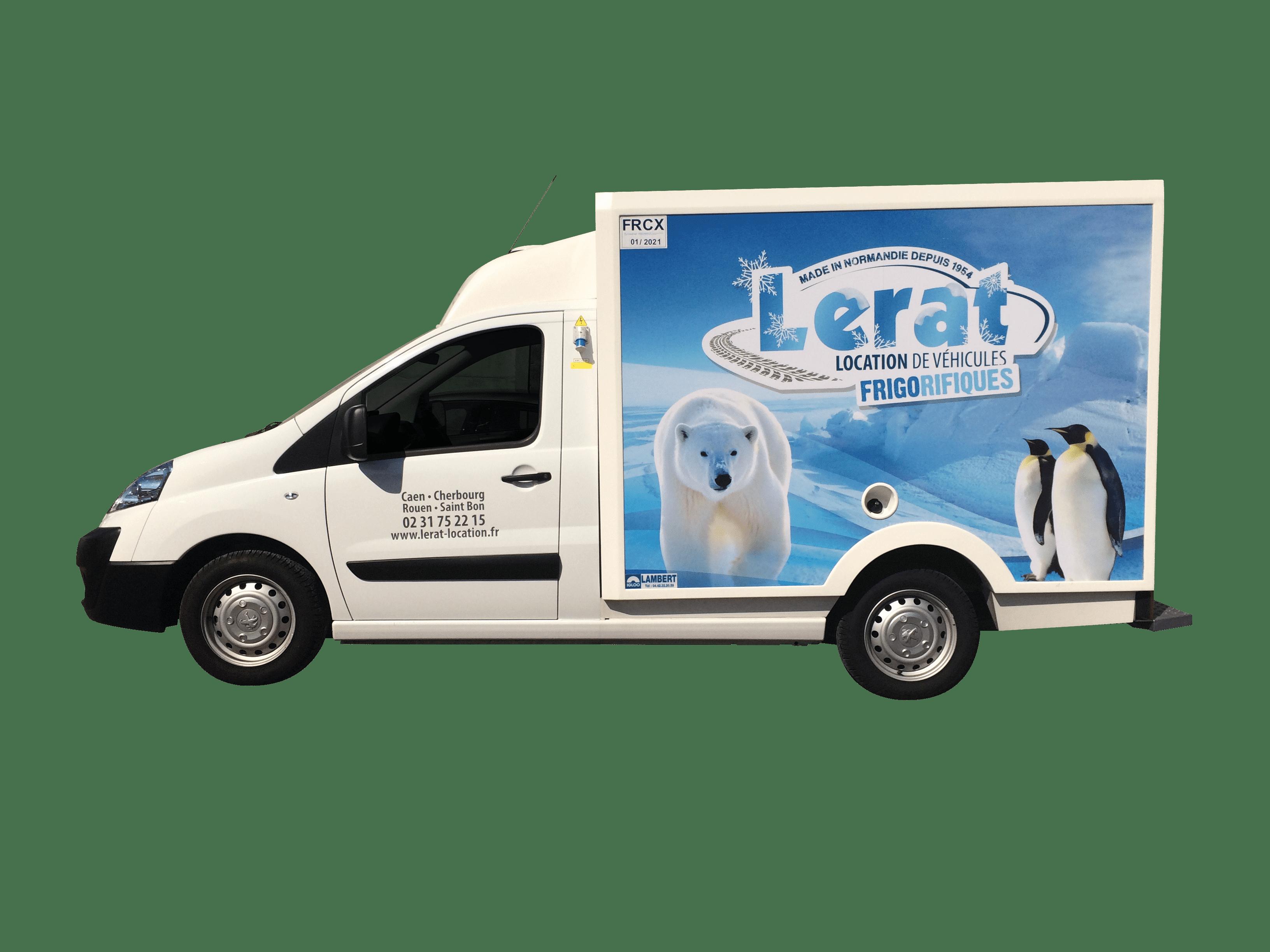 Petit camion frigorifique