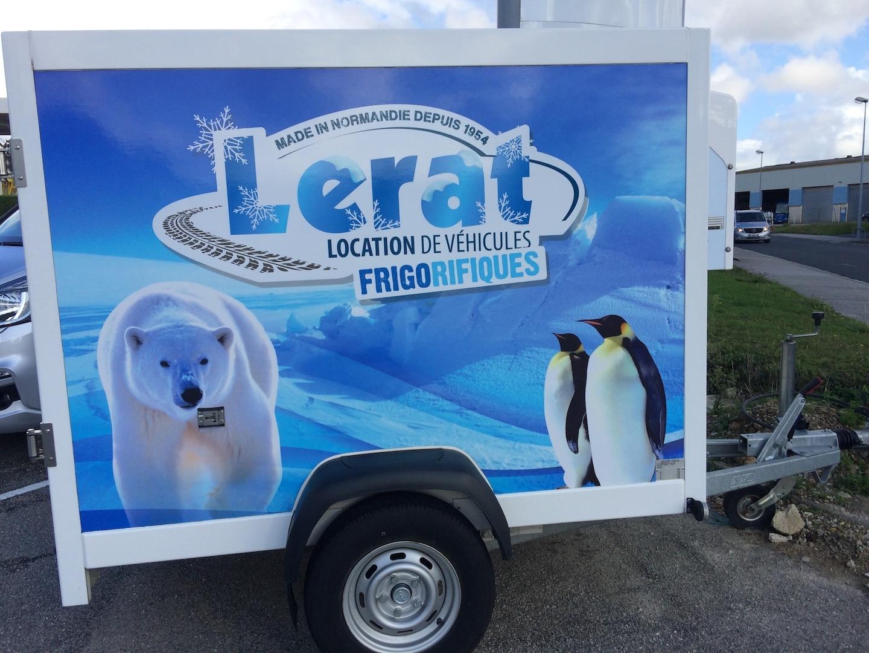 Location remorque frigorifique Lerat location