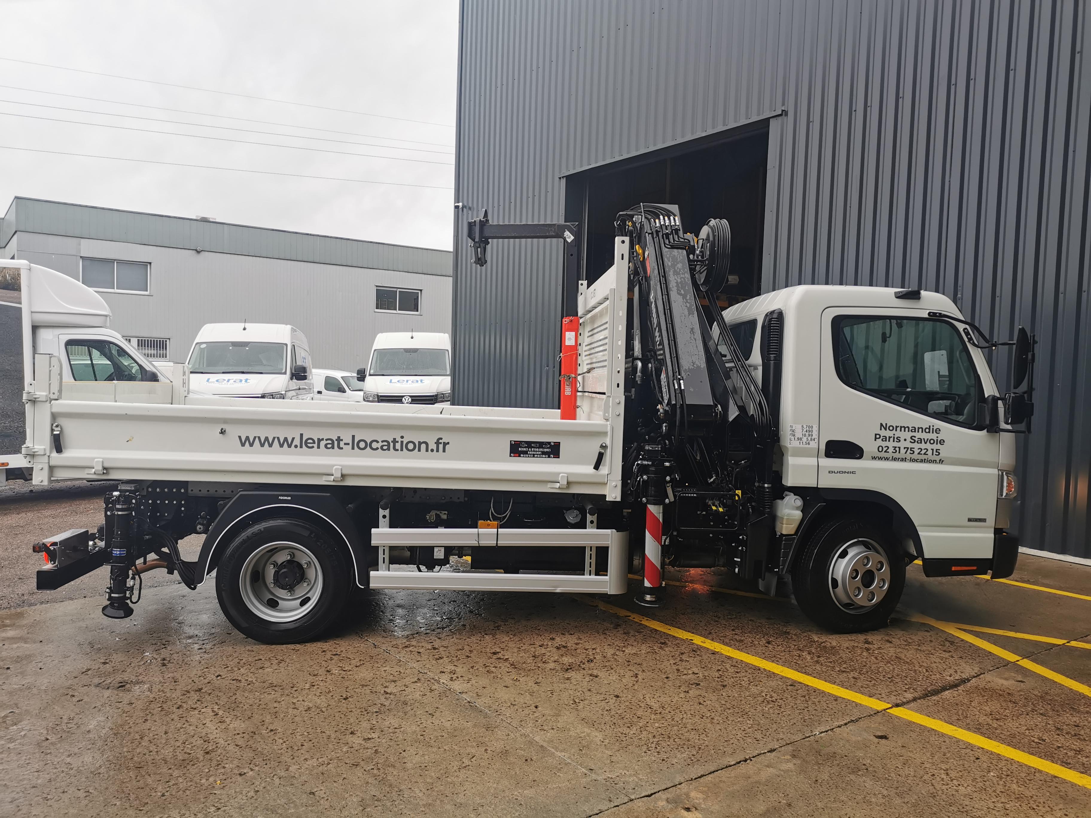 Utilisation d'un camion benne : les bonnes pratiques à mettre en œuvre